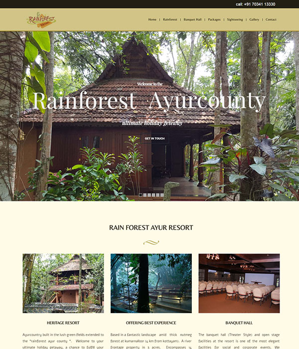 Rain Forest Ayur Resort