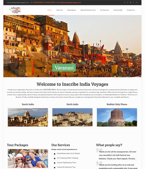 Inscribe India Voyages