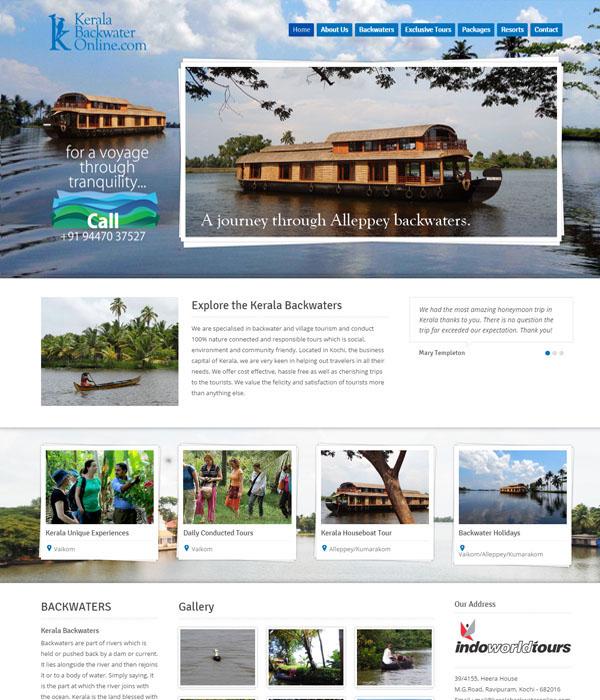 Kerala Backwater Online