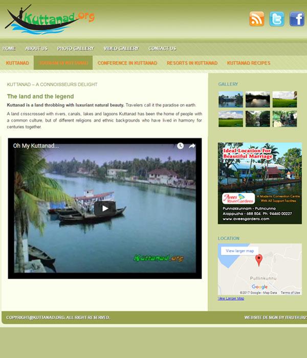 Kuttanad Tourism