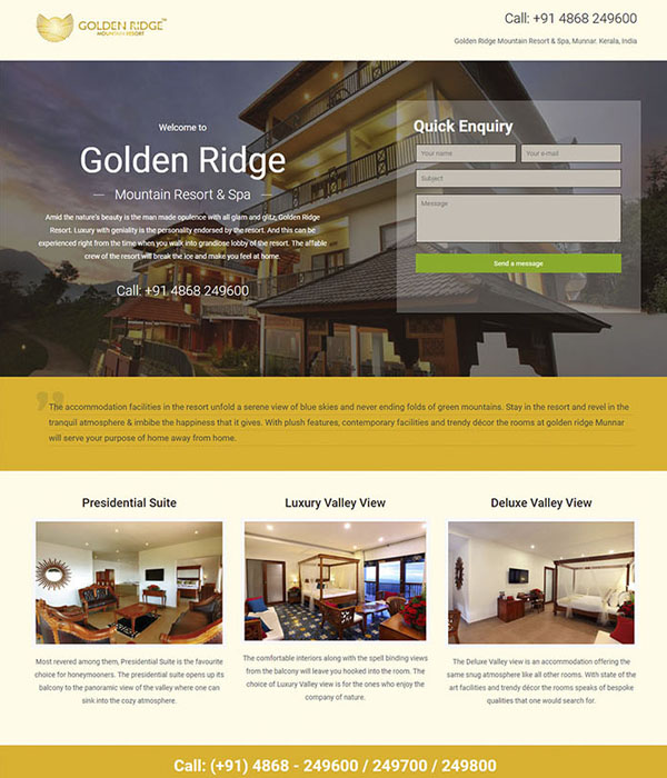 Golden Ridge Mountain Resorts